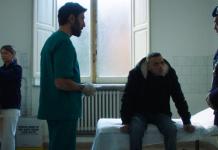 infermieri nel film su Stefano Cucchi - credit: Netflix