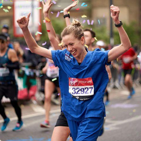 Jessica Anderson infermiera runner