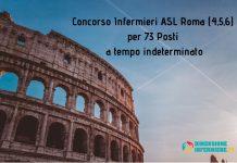 Concorso Infermieri ASL Roma (4,5,6) per 73 Posti a tempo indeterminato