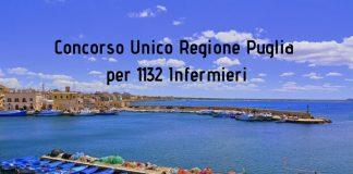 Concorso Unico Regione Puglia per 1132 Infermieri
