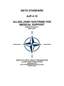 infermiere militare - nato for medical support