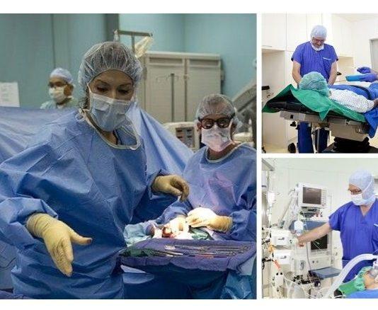 infermiere in sala operatoria strumentista, aiuto-anestesista, responsabile di sala.