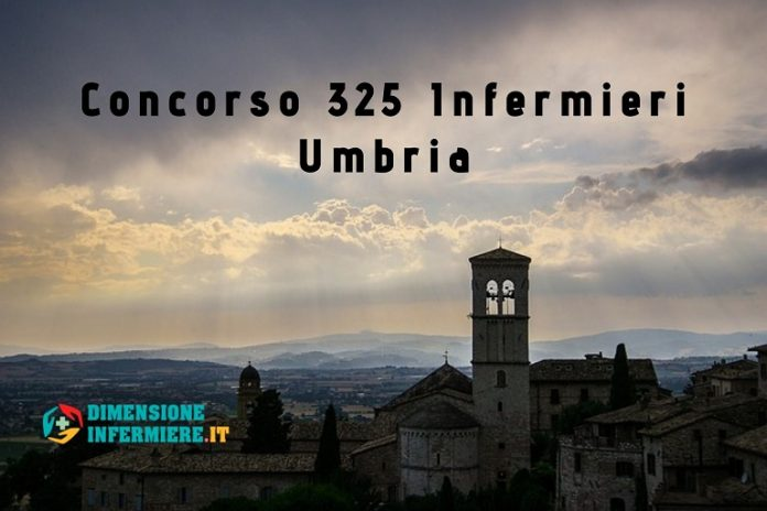Concorso 325 Infermieri Ausl Umbria e ASL Terni